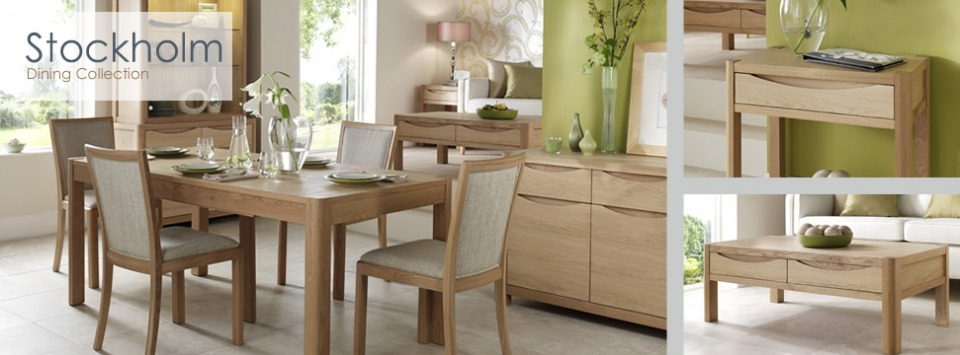Stockholm Living / Dining Collection by Winsor Furniture